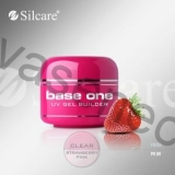Silcare Uv gel Base one CLEAR 15ml - jahoda