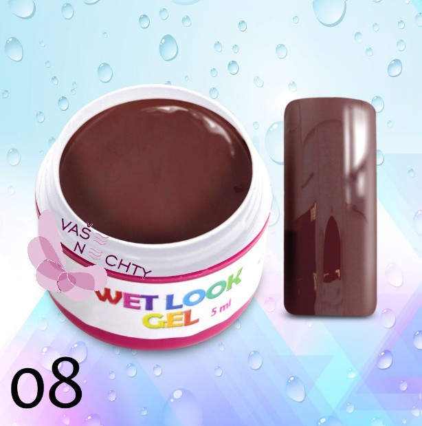 UV gél WET LOOK 5ml č.8