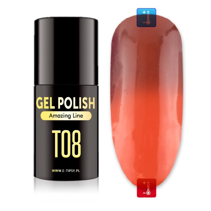 Gel Polish Amazing Line Thermo Line 5 ml - T8