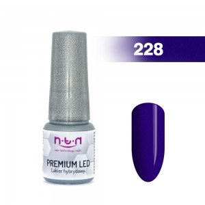Géllak NTN Hybrid UV PREMIUM LED 6ML č.228