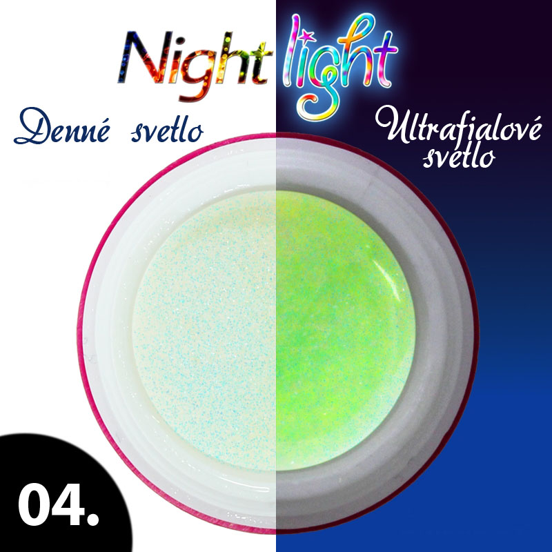 UV gél NIGHT LIGHT 5 ml - odtieň č.4