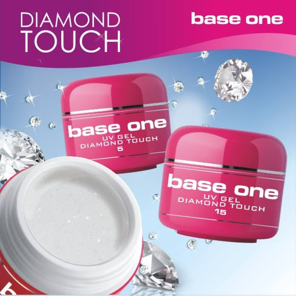 Silcare Base One Diamond Touch UV gel 15g