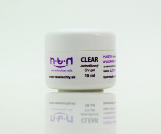 NTN - UV  GÉL CLEAR 15ml